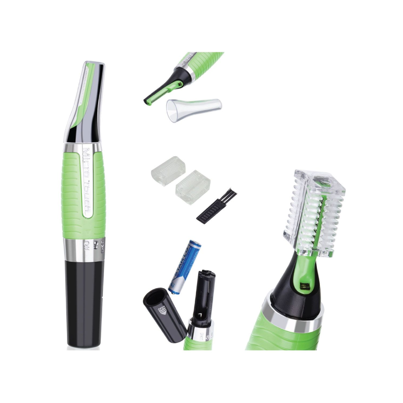 Zee Accessori - Micro Touch Max Personal Hair Trimmer - Green