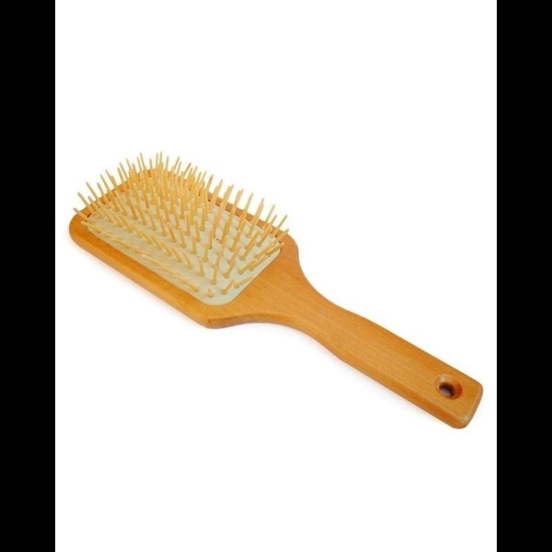 Zee Accessori - Wooden Hair Brush - Brown